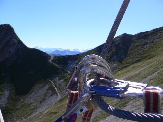 Klettersteig Gantrisch : Sac gantrisch